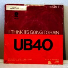 Discos de vinilo: UB40 I THINK ITS GOING TO RAIN. Lote 114575215