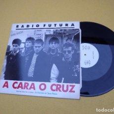 Discos de vinilo: RADIO FUTURA♦37 GRADOS/A CARA O CRUZ (EX/EX+) PROMO 1987 MAXI SINGLE 12 Ç. Lote 114592279