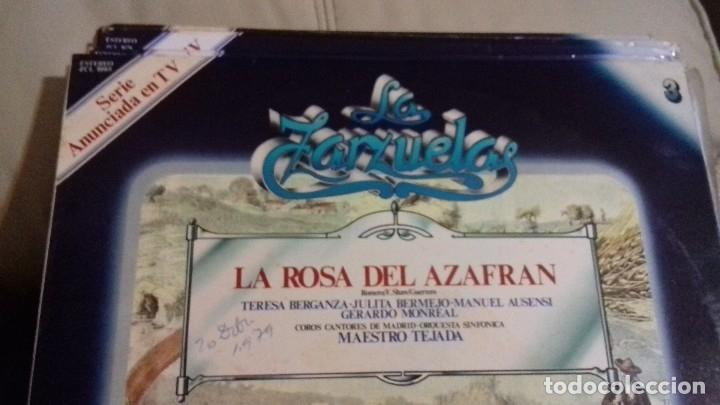 Discos de vinilo: LOTE DISCOS ZARZUELA. 9 UNIDADES. PERTENECEN A UNA COLECCIÓN. - Foto 3 - 113974095
