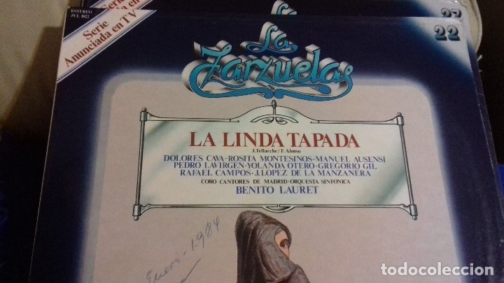 Discos de vinilo: LOTE DISCOS ZARZUELA. 9 UNIDADES. PERTENECEN A UNA COLECCIÓN. - Foto 7 - 113974095