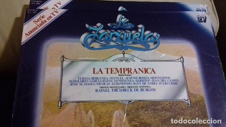 Discos de vinilo: LOTE DISCOS ZARZUELA. 9 UNIDADES. PERTENECEN A UNA COLECCIÓN. - Foto 9 - 113974095