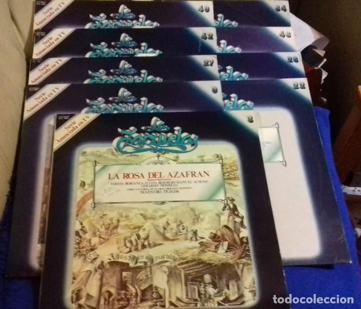 Discos de vinilo: LOTE DISCOS ZARZUELA. 9 UNIDADES. PERTENECEN A UNA COLECCIÓN. - Foto 21 - 113974095