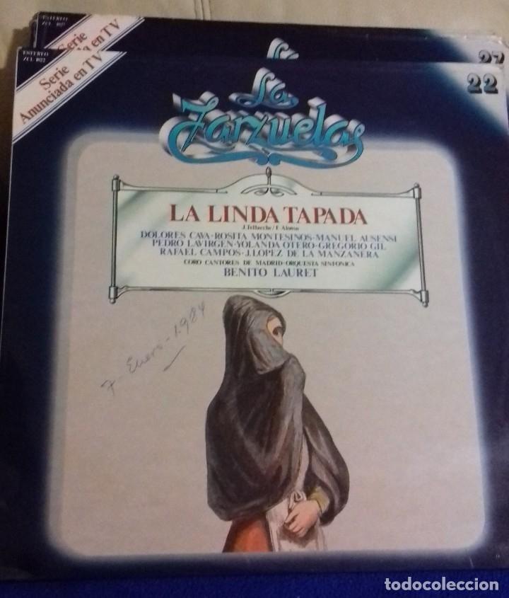 Discos de vinilo: LOTE DISCOS ZARZUELA. 9 UNIDADES. PERTENECEN A UNA COLECCIÓN. - Foto 8 - 113974095