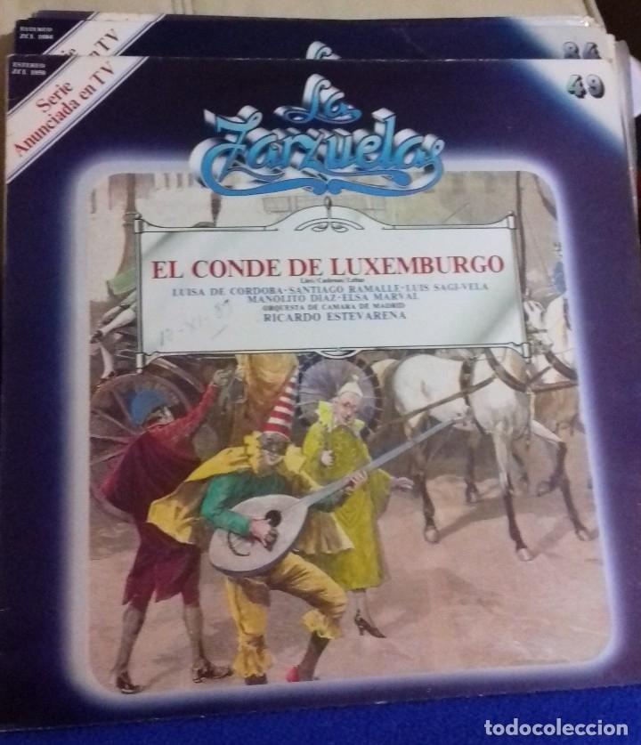 Discos de vinilo: LOTE DISCOS ZARZUELA. 9 UNIDADES. PERTENECEN A UNA COLECCIÓN. - Foto 18 - 113974095