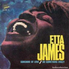 Discos de vinilo: ETTA JAMES, SG, SUNSHINE OF LOVE + 1, AÑO 1969. Lote 114611539