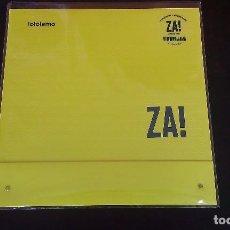 Discos de vinilo: LP ZA! LOLOISMO ROCK EXPERIMENTAL MATH ROCK ESPAÑA. Lote 114611687