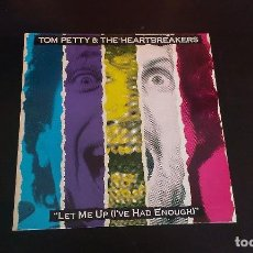 Discos de vinilo: LP TOM PETTY AND THE HEARTBREAKERS LET ME UP (I'VE HAD ENOUGH) POP ROCK NEW WAVE 80'S. Lote 114614971