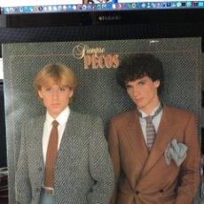 Discos de vinilo: PECOS-SIEMPRE PECOS-1980-CONTIENE POSTER GIGANTE-COMO NUEVO. Lote 114616052