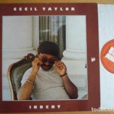 Discos de vinilo: CECIL TAYLOR - INDENT (FREEDOM, GER, 1977) . Lote 114626499