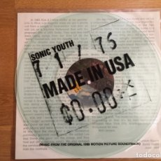 Discos de vinilo: SONIC YOUTH: MADE IN USA. Lote 114627208