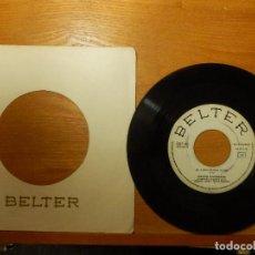 Discos de vinilo: DISCO VINILO - SINGLE - JUANITO DE VALDERRAMA - EN BUSCA DE UNA MUJER - LA MAMA - BELTER 1964 -. Lote 114631479