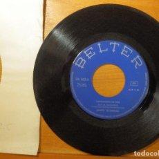 Discos de vinilo: DISCO VINILO - SINGLE - JUANITO VALDERRAMA - SOY EL INCLUSERO - AIRES TRIANEROS - BELTER 1972. Lote 114633027