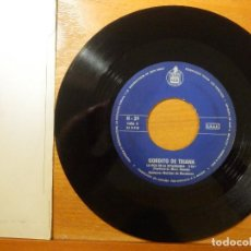 Discos de vinilo: DISCO VINILO - SINGLE - GORDITO DE TRIANA - CON TU CARITA BUENA - LA HIJA ESTANQUERA - HISPAVOX 1969. Lote 114633691