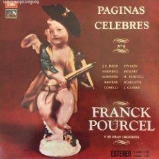 Discos de vinilo: FRANCK POURCEL. Lote 114636047