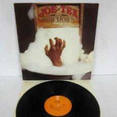 Discos de vinilo: JOE TEX - RUB DOWN - LP - EPIC 1978 USA BL 35079. Lote 114636707