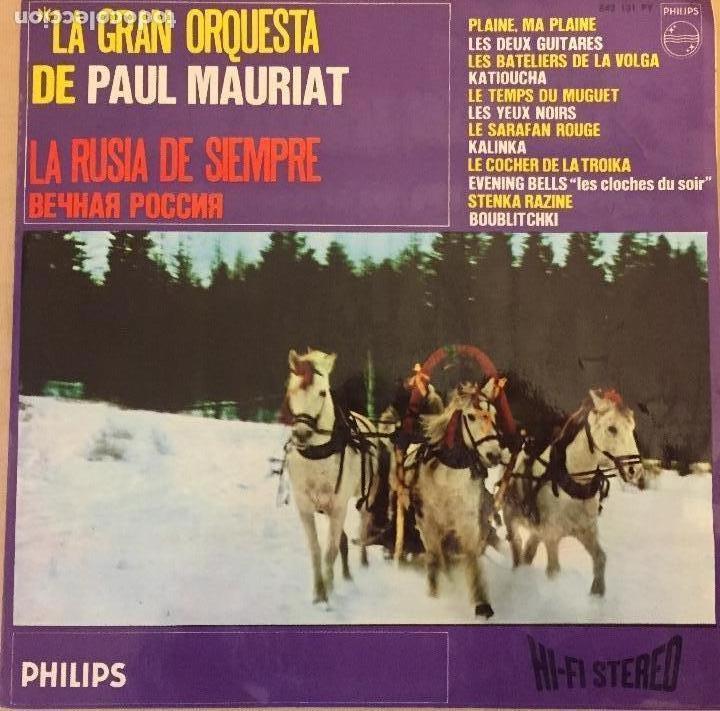 LA GRAN ORQUESTA DE PAUL MAURIAT (Música - Discos de Vinilo - EPs - Bandas Sonoras y Actores)