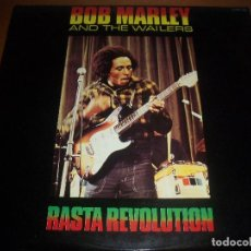 Discos de vinil: BOB MARLEY AND THE WAILERS. RASTA REVOLUTION. EDICION ZAFIRO.. Lote 114650547