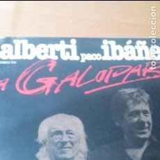 Discos de vinilo: RAFAEL ALBERTI PACO IBAÑEZ A GALOPAR 2XLP GATEFOLD. Lote 114644527