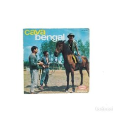 Discos de vinilo: SINGLE. ROSITA / ANGELICA. LOS CAVA BENGAL. (VG/VG+). Lote 114659263