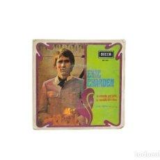 Discos de vinilo: EP. LE MONDE EST GRIS, LE MONDE EST BLEU. ERIC CHARDEN. (VG/VG). Lote 114659491