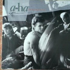Discos de vinilo: A-HA -HUNTING HIGH AND LOW- LP 1985 WEA CANADA. Lote 114661843