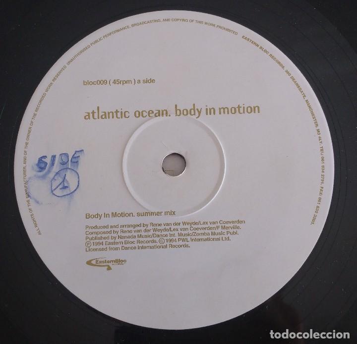 Discos de vinilo: Atlantic Ocean – Body In Motion - Foto 3 - 114662615