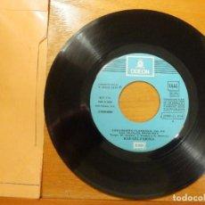Discos de vinilo: DISCO VINILO - SINGLE - RAFAEL FARINA - VINO DULCE - LOS IGUALES PARA HOY - ODEON 1974 -. Lote 114666743