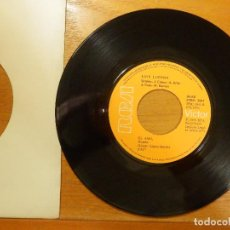 Discos de vinilo: DISCO VINILO - SINGLE - LUIS LUCENA - EL AMO, TENGO UNA BARCA DE PLATA - RCA 1973. Lote 114666799