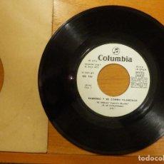 Discos de vinilo: DISCO VINILO - SINGLE - BAMBINO Y SU COMBO FLAMENCO - NI UN PADRE NUESTRO - MI AMIGO - COLUMBIA 1973. Lote 114666831