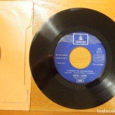 Discos de vinilo: DISCO VINILO - SINGLE - RAFAEL FARINA - CASTA Y BRAVURA - TORERO DE SALAMANCA - ODEON 1969. Lote 114666883