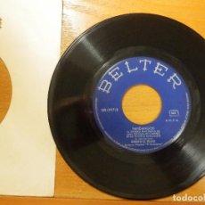 Discos de vinilo: DISCO VINILO - SINGLE - GORDITO DE TRIANA - DOMINAO POR SU MUJER, TIENE LA CELOSA, - ODEON 1969. Lote 114666911