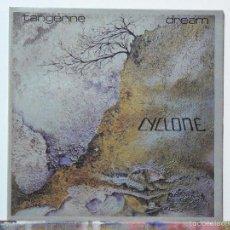 Discos de vinilo: TANGERINE DREAM-CYCLONE (LP. VIRGIN.1978) PORTADA DOBLE. KRAUTROCK. Lote 114674763