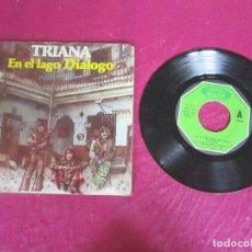 Discos de vinilo: TRIANA - EN EL LAGO DIALOGO 1976 SINGLE VINILO. Lote 114674831