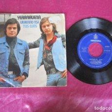 Discos de vinilo: YERBABUENA / VIVIENDO ASI / TUS OJOS 1975 SINGLE VINILO. Lote 114677367