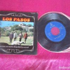 Discos de vinilo: LOS PASOS AYER TUVE UN SUEÑO / EL POBRE 1967 SINGLE VINILO. Lote 114677739