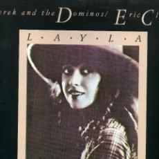 Discos de vinilo: DEREK AND THE DOMINOS & ERIC CLAPTON - LAYLA (LONG VERSION). Lote 114677771