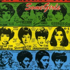 Discos de vinilo: THE ROLLING STONES - SOME GIRLS. Lote 114678415