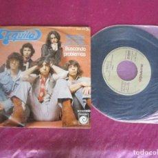 Discos de vinilo: TEQUILA - NECESITO UN TRAGO BUSCANDO PROBLEMAS SINGLE VINILO . Lote 114678691