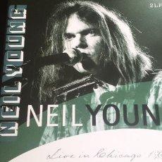 Discos de vinilo: 2 LP NEIL YOUNG: LIVE IN CHICAGO 1992 (EDIC. HOLLAND 2011) DOBLE EN DIRECTO. Lote 114685223