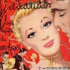 Discos de vinilo: BAILANDO CON LA ORQUESTA DE HARRY ARNOLD - EP BELTER 50'S. Lote 114685531