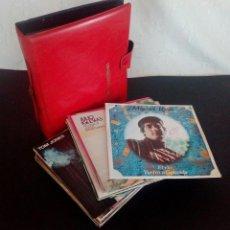 Discos de vinilo: LOTE 25 DISCOS VINILO + ESTUCHE ( VARIOS ESTILOS ) AÑOS 1960/70.. Lote 139915876