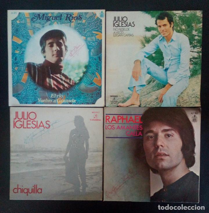 Discos de vinilo: LOTE 25 DISCOS VINILO + ESTUCHE ( VARIOS ESTILOS ) AÑOS 1960/70. - Foto 2 - 139915876