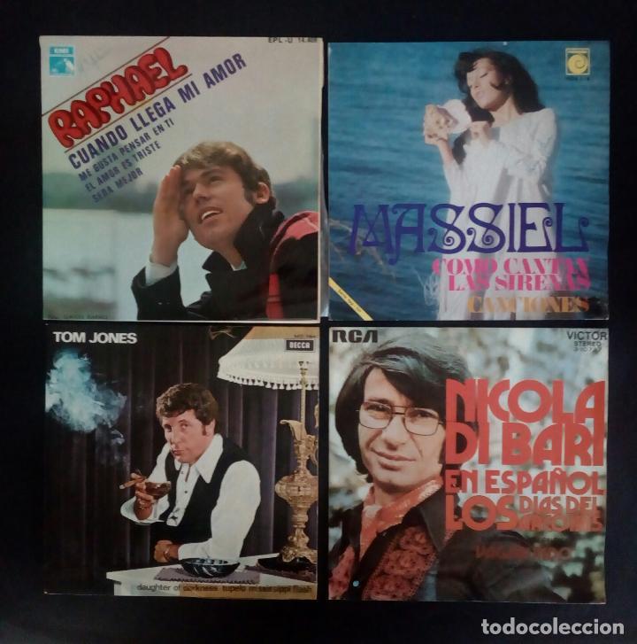 Discos de vinilo: LOTE 25 DISCOS VINILO + ESTUCHE ( VARIOS ESTILOS ) AÑOS 1960/70. - Foto 3 - 139915876