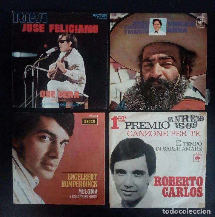 Discos de vinilo: LOTE 25 DISCOS VINILO + ESTUCHE ( VARIOS ESTILOS ) AÑOS 1960/70. - Foto 4 - 139915876