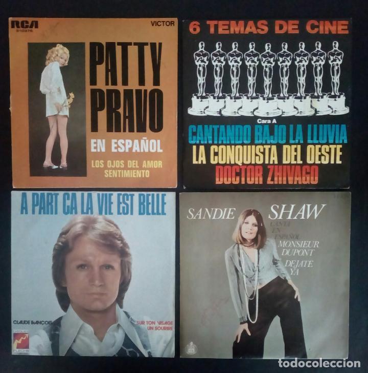 Discos de vinilo: LOTE 25 DISCOS VINILO + ESTUCHE ( VARIOS ESTILOS ) AÑOS 1960/70. - Foto 5 - 139915876