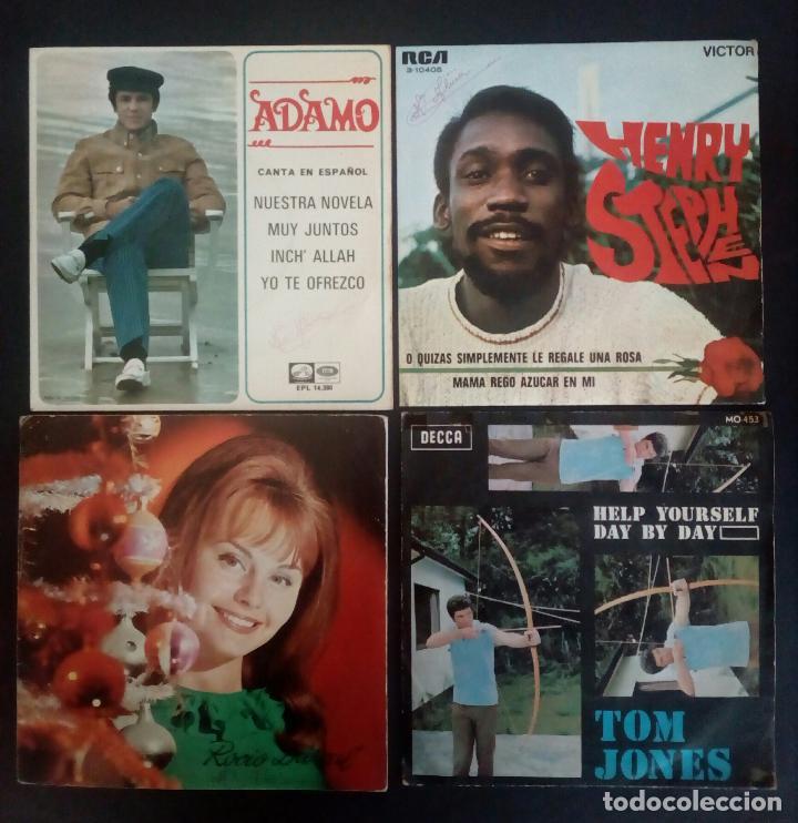 Discos de vinilo: LOTE 25 DISCOS VINILO + ESTUCHE ( VARIOS ESTILOS ) AÑOS 1960/70. - Foto 6 - 139915876