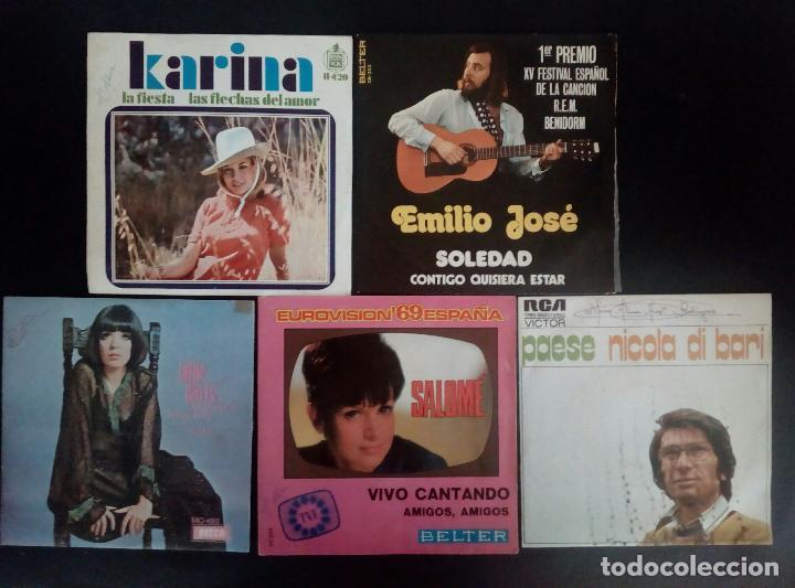 Discos de vinilo: LOTE 25 DISCOS VINILO + ESTUCHE ( VARIOS ESTILOS ) AÑOS 1960/70. - Foto 7 - 139915876