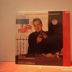 Discos de vinilo: THE LAST RUN. Lote 114697419