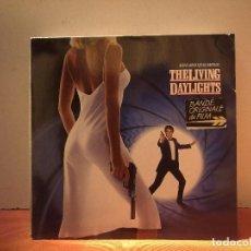 Discos de vinilo: THE LIVINGH DAYLIGHTS. Lote 114697491