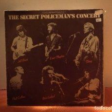 Discos de vinilo: THE SECRET POLICEMANS CONCERT. Lote 114697755